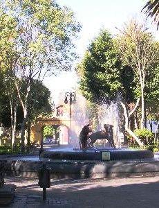 El barrio de coyoac n for Jardin hidalgo