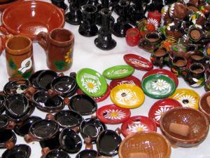 Michoacán.- Artesanías de barro