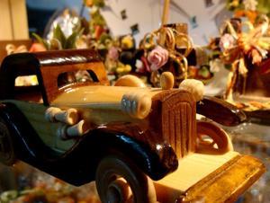 Michoacán.- Artesanías de madera