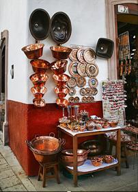 Michoacán.- Artesanía del cobre