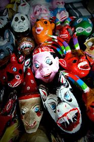 Michoacán.- Máscaras