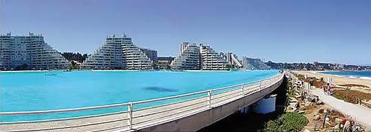 La mayor piscina del mundo for Construccion de piscinas santiago chile