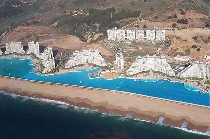 La mayor piscina del mundo for Piscinas ecologicas chile